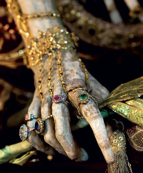 Jewel Encrusted Hand