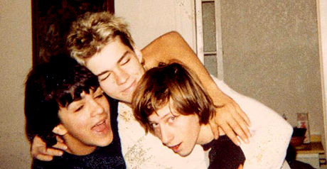 Ben, Tom and Daniel - Seattle, 1980