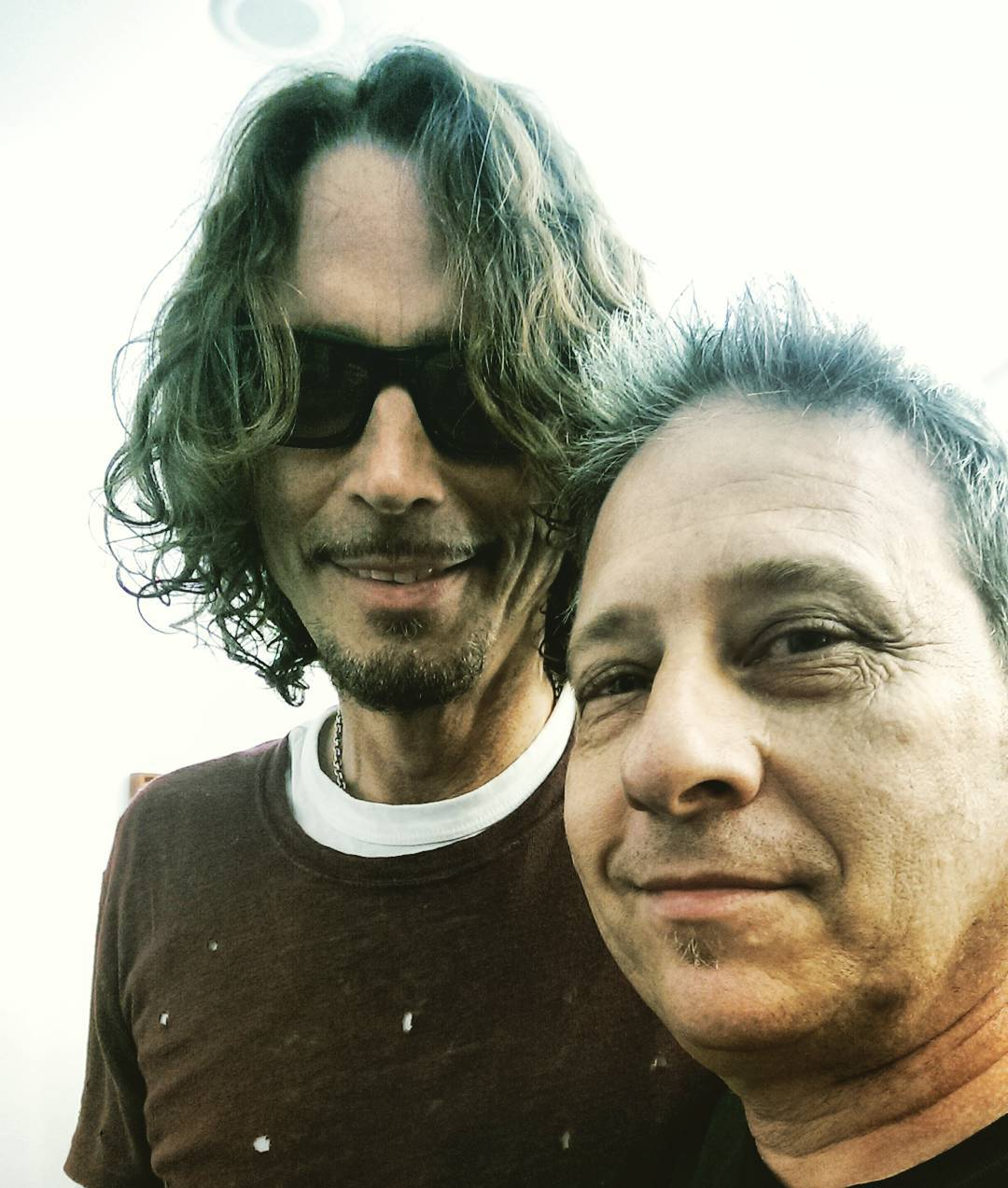 Chris Cornell & Daniel House - Sept., 2015 (photo by Karen)