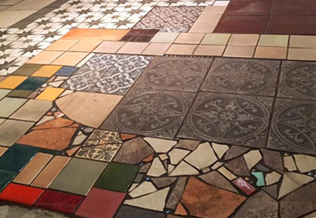 Art Tile Floor