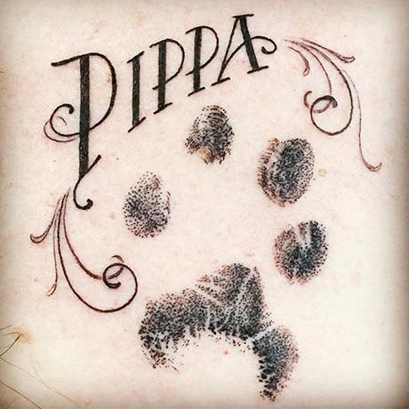Pippa Paw Tattoo